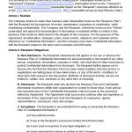 Free business plan non disclosure agreement nda pdf word cx saigontimesfo