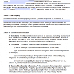 Free Commercial Real Estate NonDisclosure Agreement NDA PDF - Real estate non disclosure agreement template